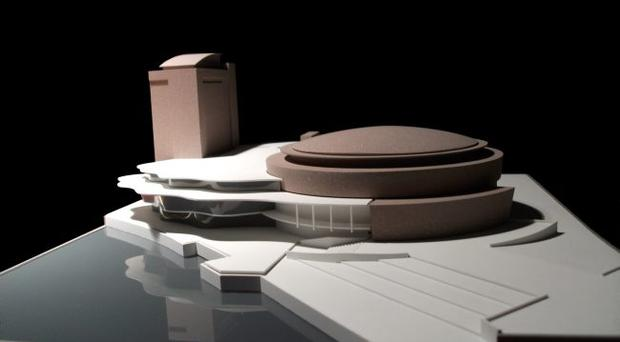 The design for the Waterfront Hall