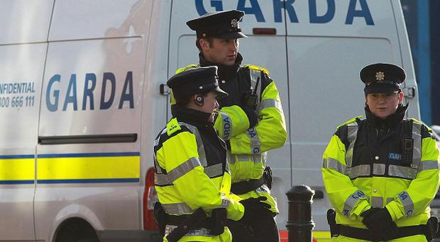 Gardai were called to a house in Blanchardstown, Dublin, after reports of a shooting