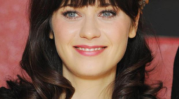 1. Zooey Deschanel