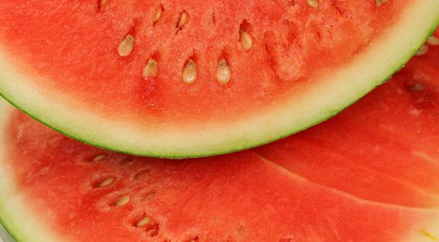 Tests are being carried out to determine whether watermelons are linked to an outbreak of salmonella