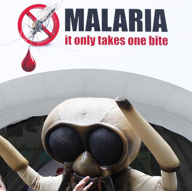 Malaria kills about 600,000 people each year, most of them young children under the age of five living in sub-Saharan Africa and South East Asia