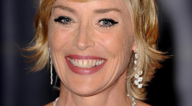 Sharon Stone is currently filming Linda Lovelace biopic Lovelace