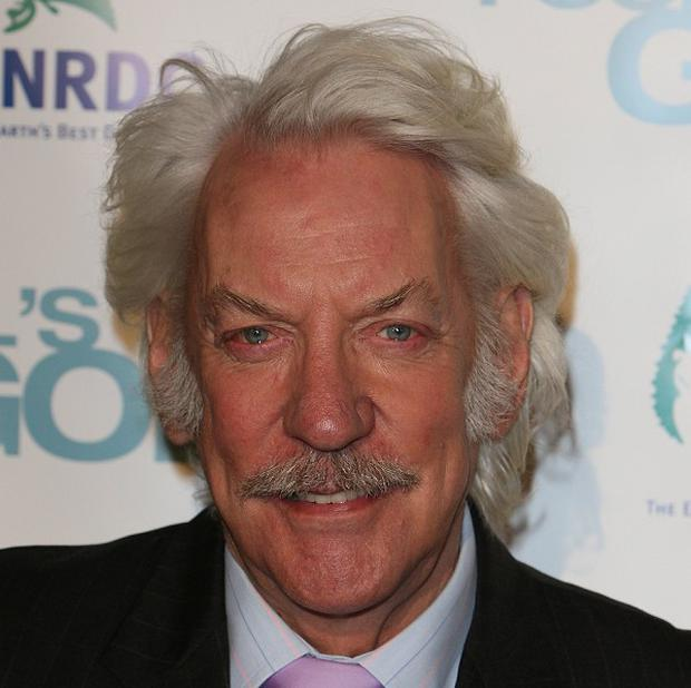 Donald Sutherland loved working on The Hunger Games