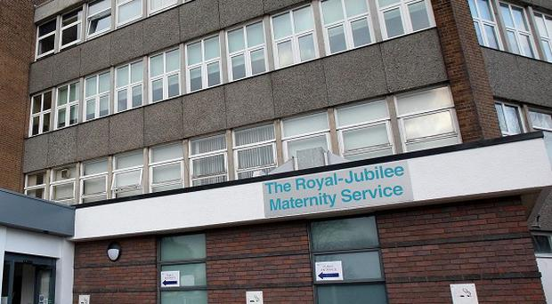 The Royal Jubilee Maternity Hospital in Belfast underwent a deep clean after the bug was found