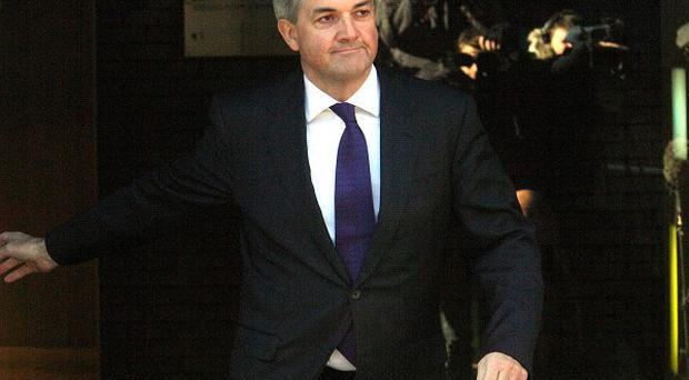 Chris Huhne vowed to clear his name as he resigned from the Cabinet over allegations relating to a speeding penalty in 2003