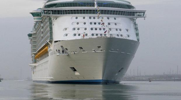 One of Royal Caribbean International's fleet, the Independence of the Seas (AP)