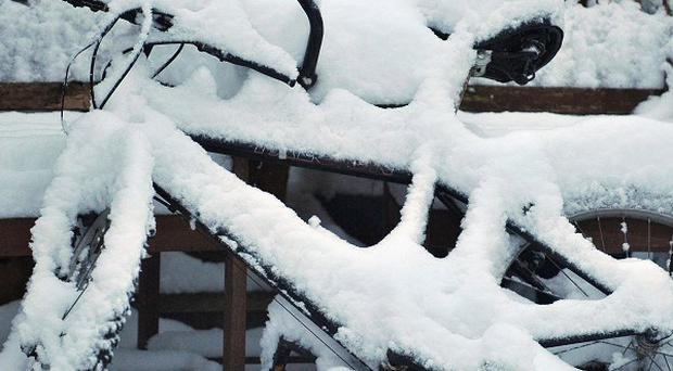 Heavy snow falls have disrupted transport in many areas