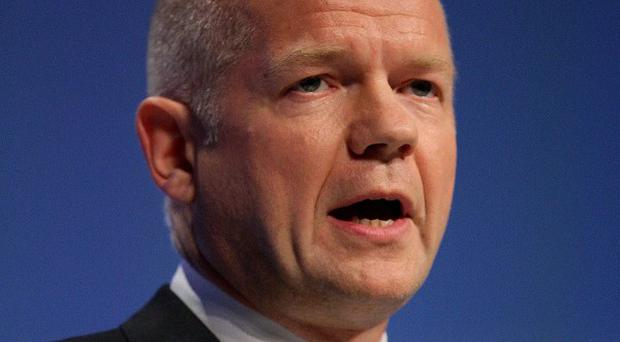 William Hague denied commemorations marking the 30th anniversary of the Falklands conflict could be provocative