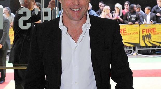 Hugh Grant plays Daniel Cleaver in the Bridget Jones films