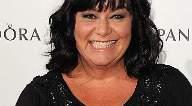 Dawn French says she does not plan to lose any more weight