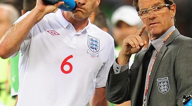 Fabio Capello said John Terry should keep the England captain's armband