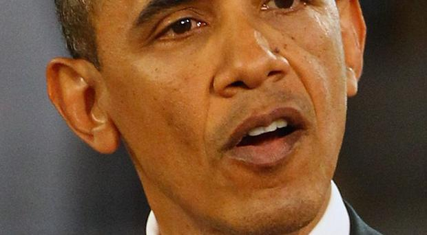 US president Barack Obama said the US wanted a diplomatic solution to concerns Israel may attack Iran over the latter's nuclear programme