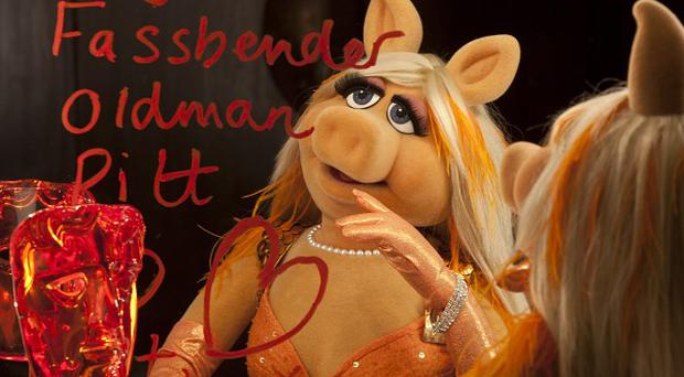 Miss Piggy will be trying out her charms on the Baftas red carpet