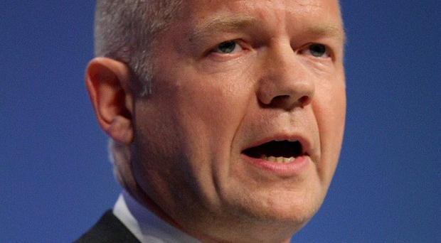 Foreign Secretary William Hague said Russia and China bore some responsibility for future deaths in Syria if violence continued