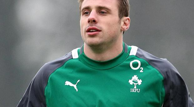 Tommy Bowe played for Ulster from 2003 to 2008