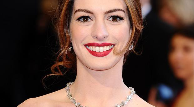 Anne Hathaway had an engagement party in New York