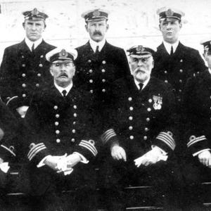 The crew of the RMS Titanic, pictured just before her maiden voyage. Photograph © National Museums Northern Ireland. Collection Ulster Folk & Transport Museum