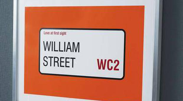 <b>7. Personalised Street Name</b> From £22, notonthehigh street. com Nothing beats a personalised Valentine's present. Send the name of the place you first met and you'll get a personalised street sign for your bedroom wall.