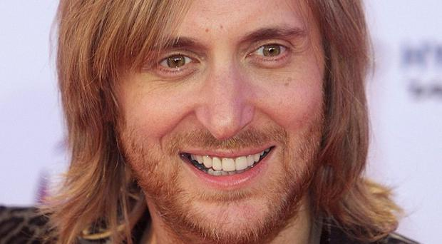 David Guetta hit the top of the singles charts with Titanium