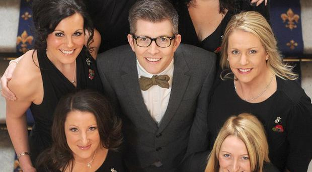 Gareth Malone is delighted by the success of the Military Wives music