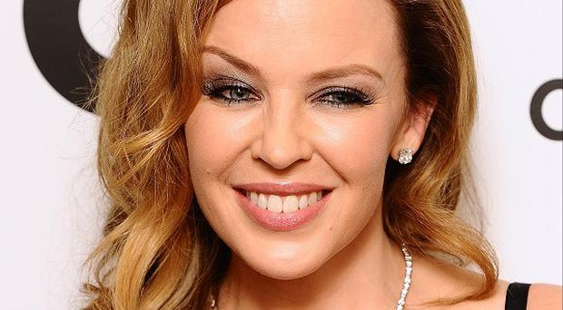 Kylie Minogue said she'd had threats over Twitter