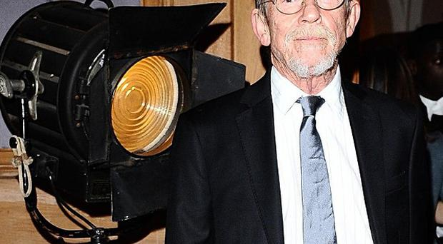 John Hurt picked up two lifetime achievement awards at the London Evening Standard British Film Awards