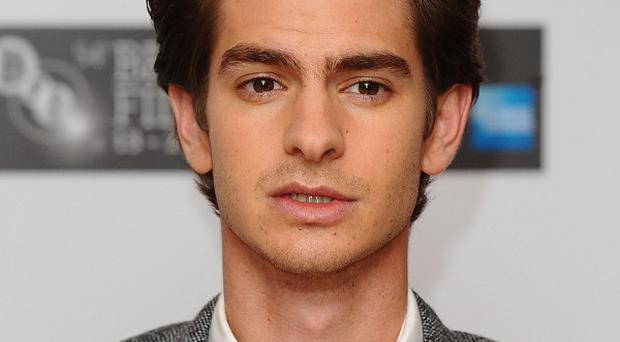 Andrew Garfield plays the latest Spider-Man