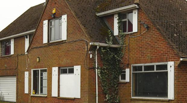 A council is intent on shutting down operations at this house in Calmore, Hampshire, also known as the JCT2 club
