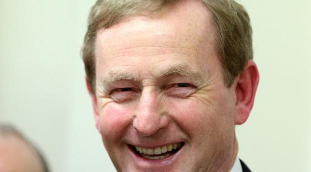 Taoiseach Enda Kenny brushed off 'hysterical' recent comments on controversial septic tank registration plans