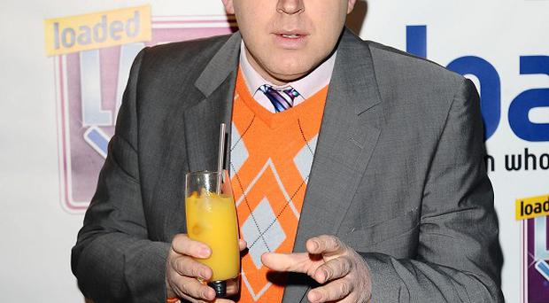 Tim Vine won the award for the funniest joke at the Loaded Laftas