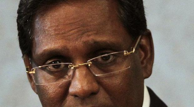 New Maldives president Mohammed Waheed Hassan denies he was behind a plot to oust his predecessor Mohamed Nasheed