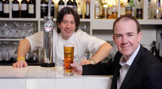 Niall McMullan and Michelin Star chef Michael Deane