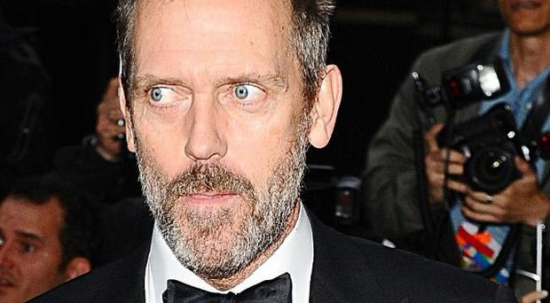 Hugh Laurie stars as Dr Gregory House in medical drama House