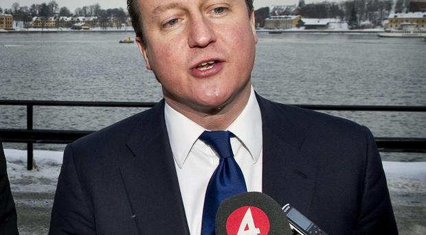 David Cameron has said the UK will defend the Falkland Islands' right to self-determination