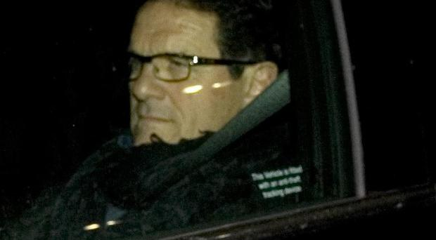 Fabio Capello stepped down following a meeting with the Football Association at Wembley Stadium in London