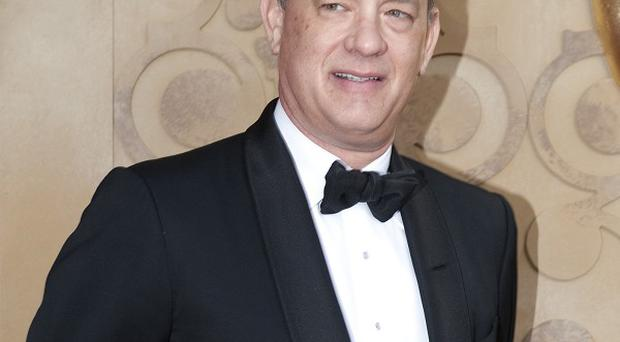 Tom Hanks plays Thomas Horn's dad in Extremely Loud And Incredibly Close