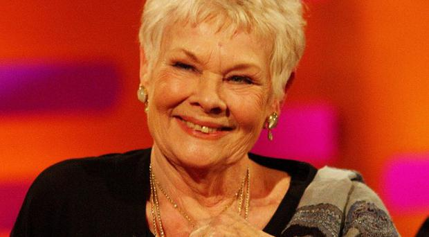Dame Judi Dench talked about fish and her late film career with Graham Norton, but not about Bond