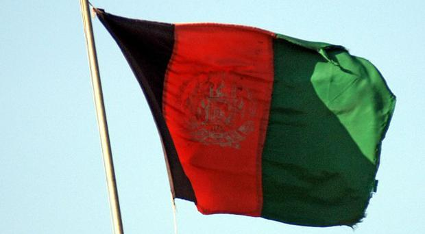 Five policemen have been killed by a roadside bomb in southern Afghanistan