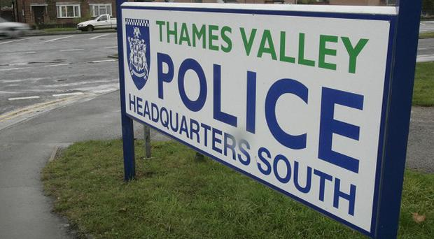 Thames Valley Police are appealing for information after four robberies in Berkshire