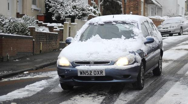 Road conditions could be 'deceptively dangerous' as families prepare to go away for half-term