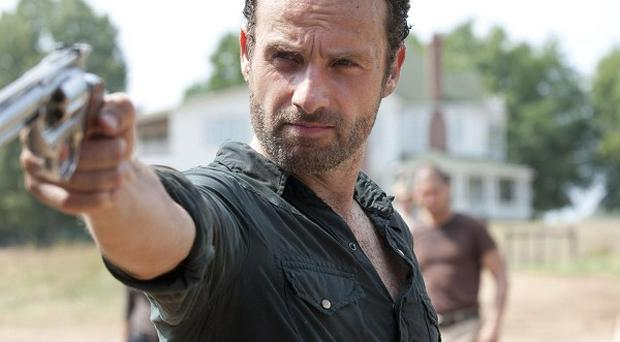 Andrew Lincoln adopts an American accent for his role in The Walking Dead
