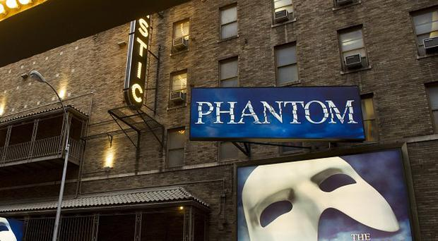 The Phantom of the Opera celebrated its 10,000th performance on Broadway (AP)