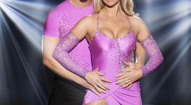 Jennifer Ellison was injured during the Dancing On Ice live show