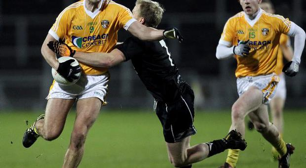 Star appeal: Conal Kelly was a key man for Antrim