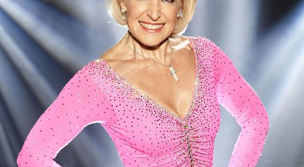 Rosemary Conley's ice skating adventure is at an end