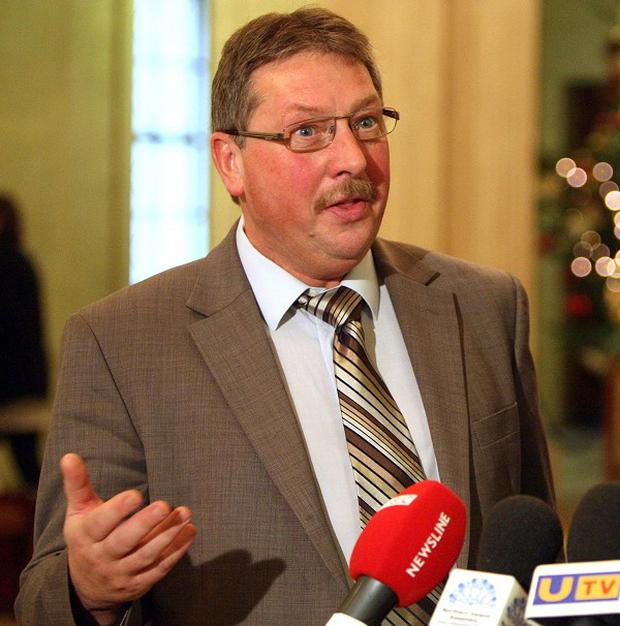 Sammy Wilson announced the £580 investment this morning