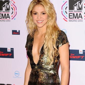 Shakira got into a nasty situation with a sea lion