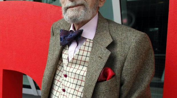 David Kelly continued taking acting roles until last year