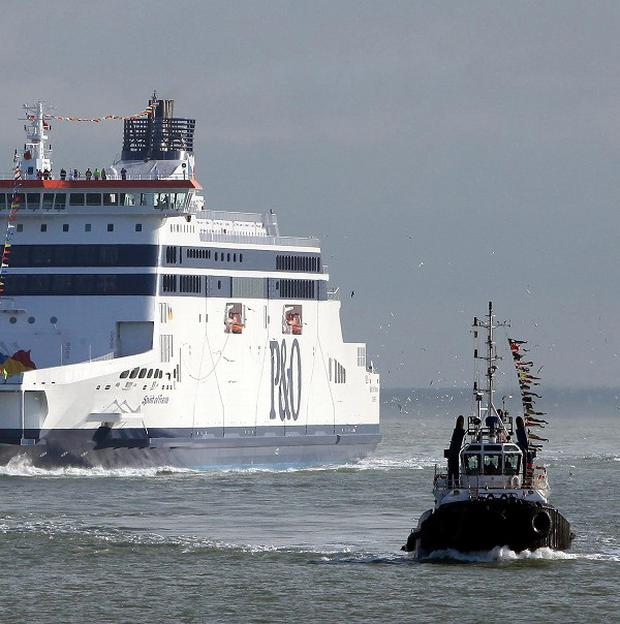 Around 60 ships have been blocked from docking by striking harbour pilots in Belgium