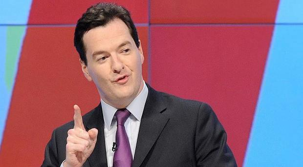 Chancellor George Osborne said Britain must keep dealing with its level of debt